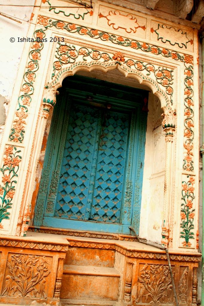 Doors to an old mansion (havelo), naughara Lane, Chandni Chowk