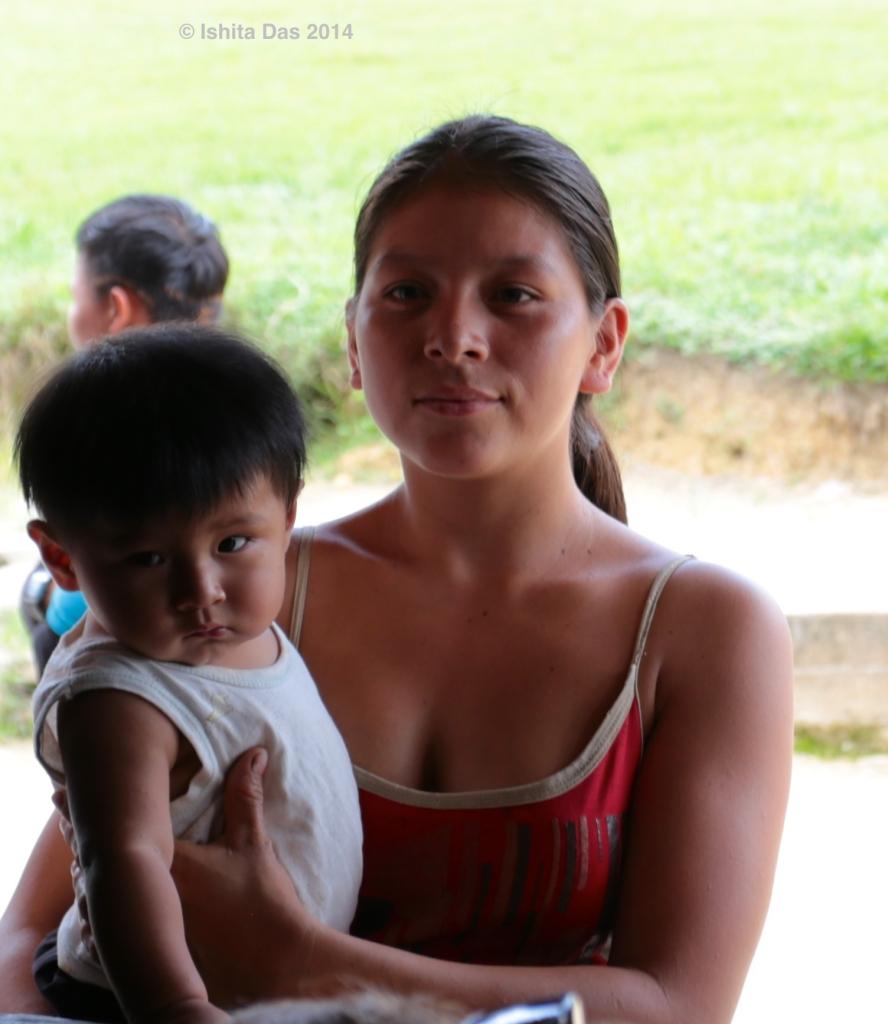 Bonita with baby-2