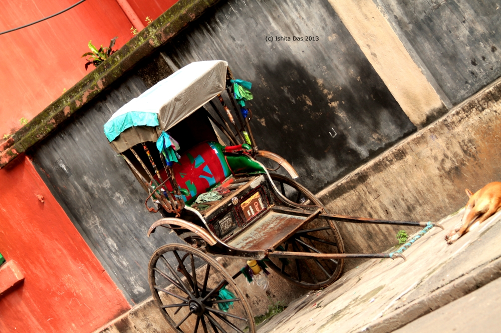 Hand-rickshaw - watermarked