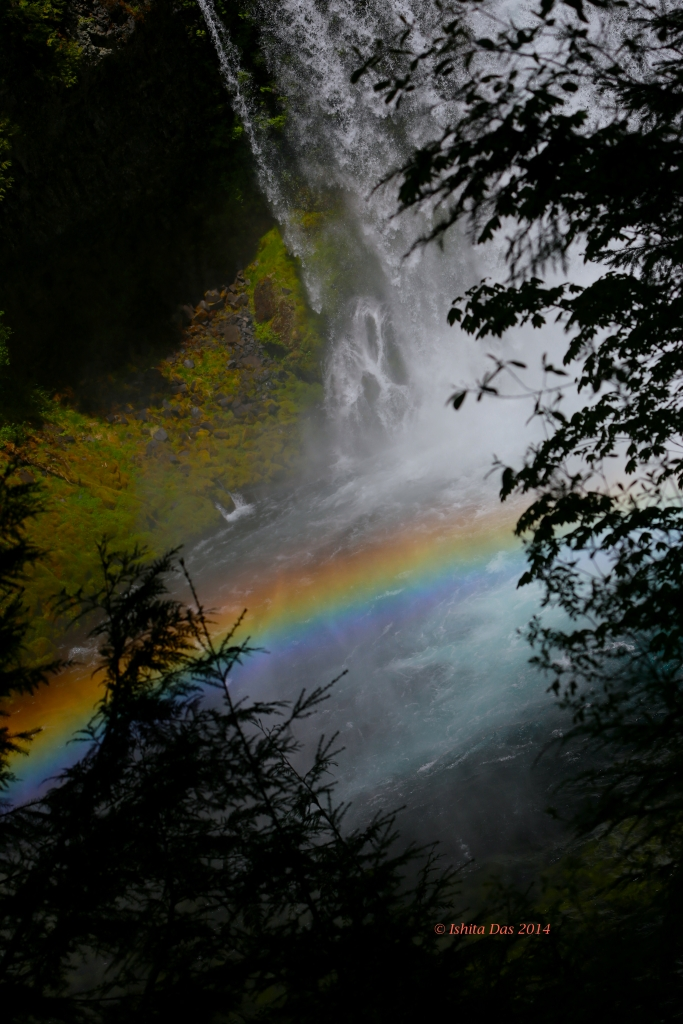Rainbow- waterfall