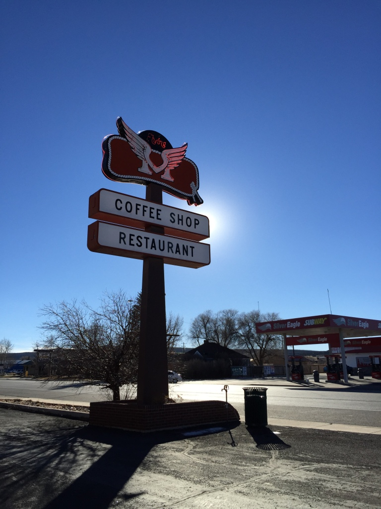 Flying M coffee shop and restaurant- Panguitch