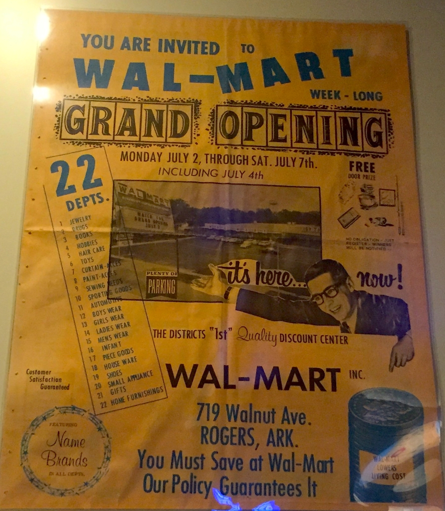 The Grand Opening of Wal-Mart fliers