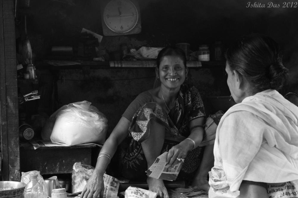 Smiling Gauri