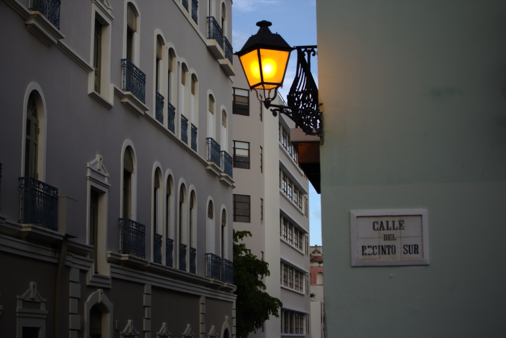 The light(s) of Old San Juan