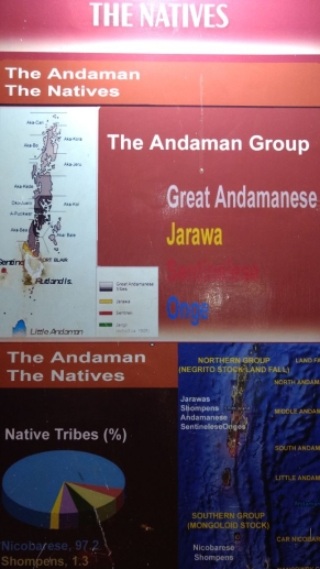 map of native population in andamans